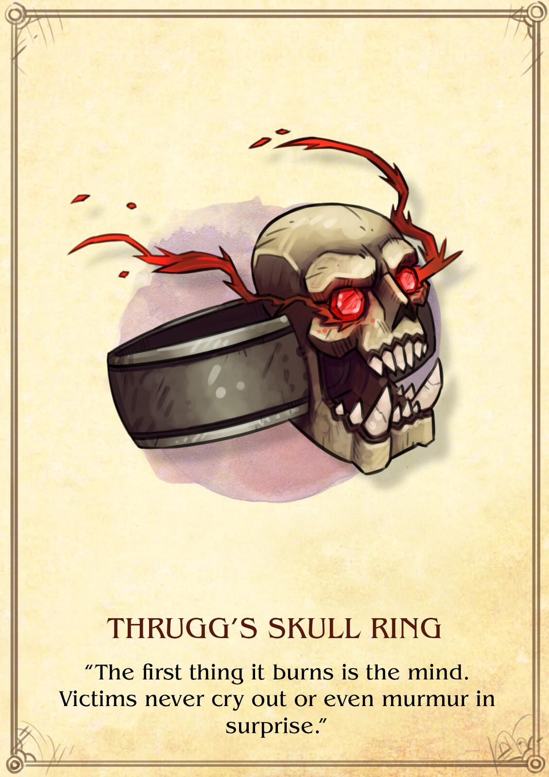 Thrugg's Skull Ring
