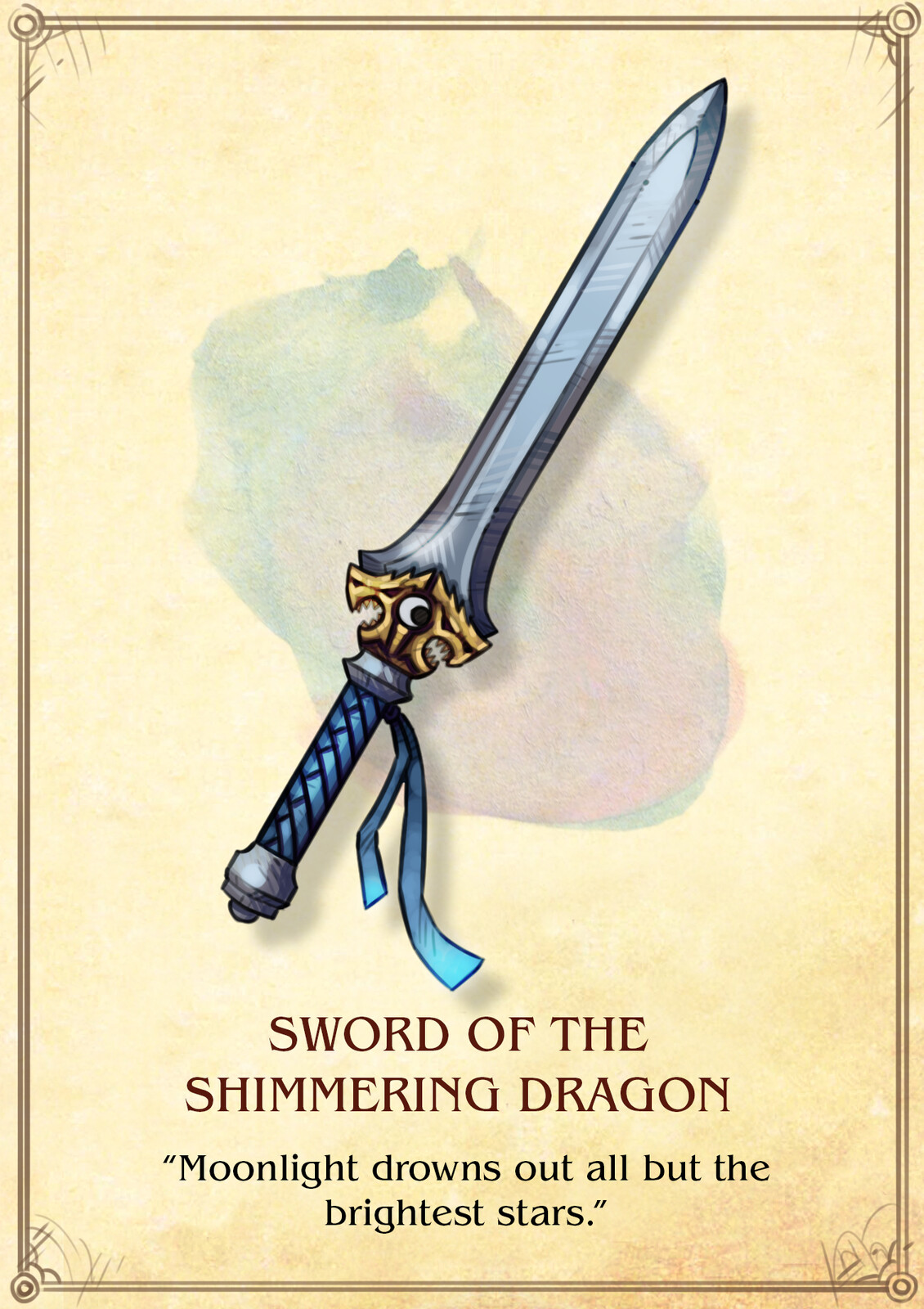 Sword of the Shimmering Dragon