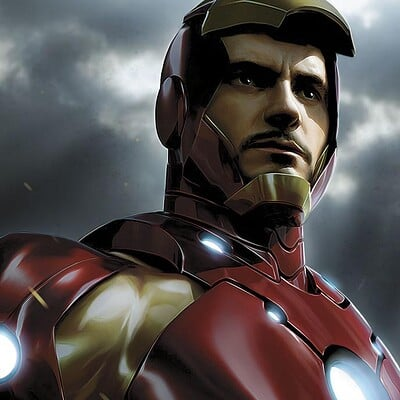 Jeremy roberts new iron man by jprart d33bap6
