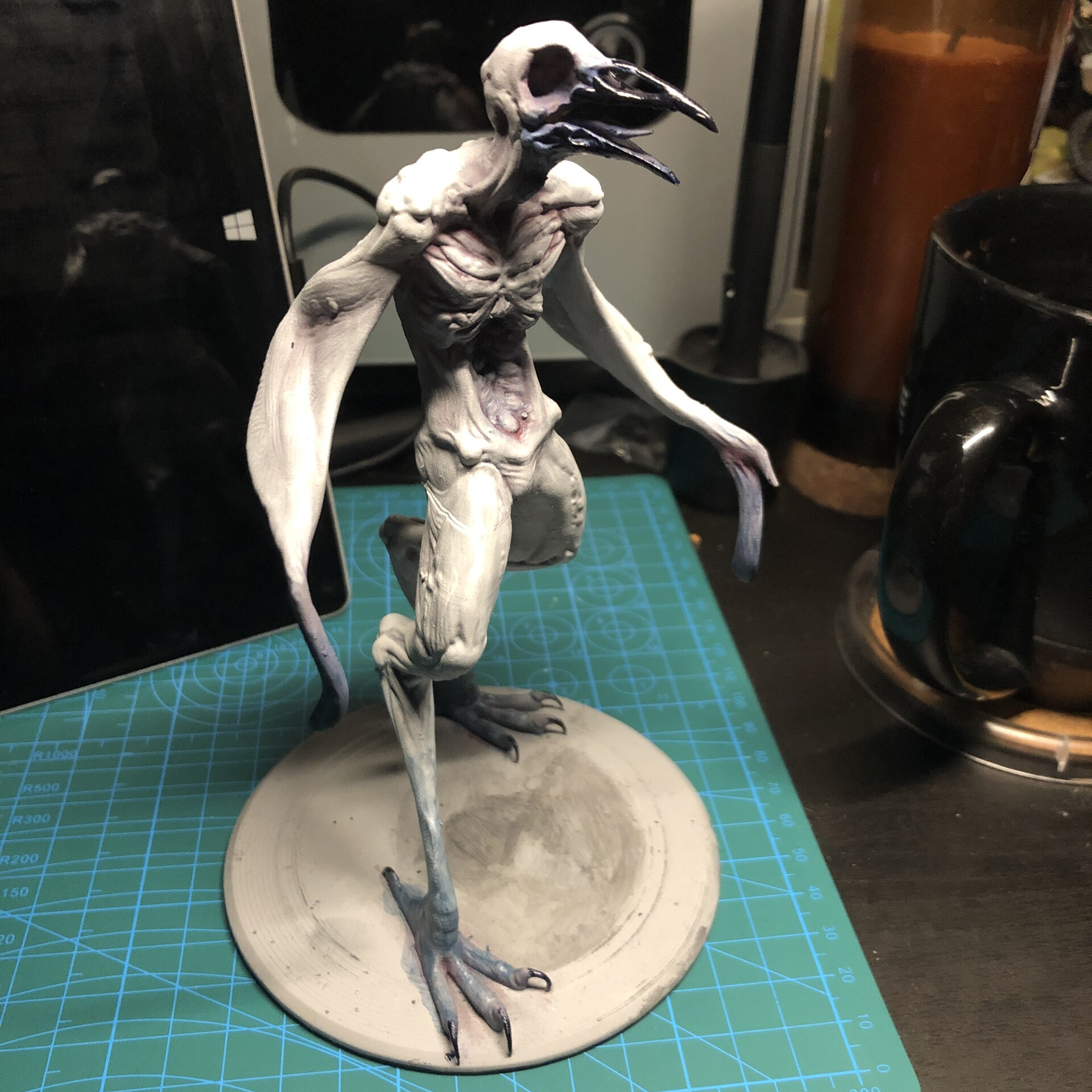 3D Print, WIP painting progress!