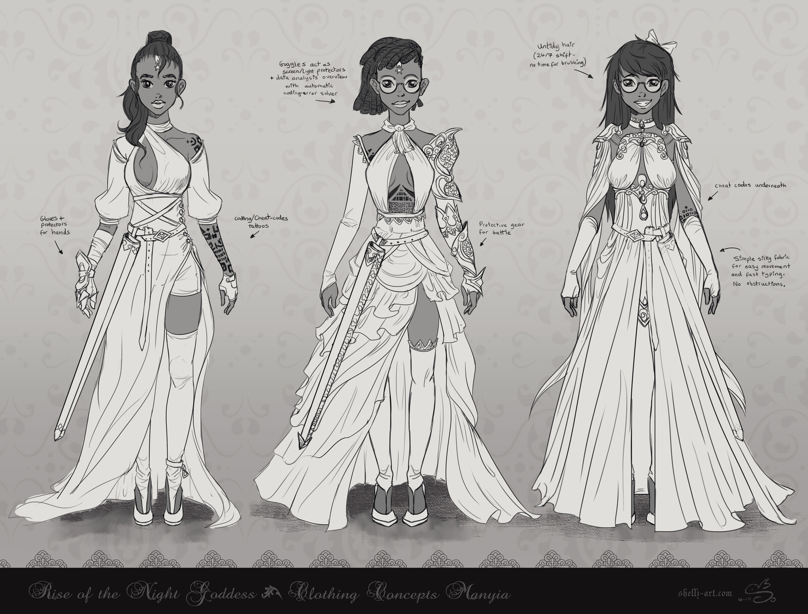 Avalerion Books | Rise of the Night Goddess - Manyia Concepts