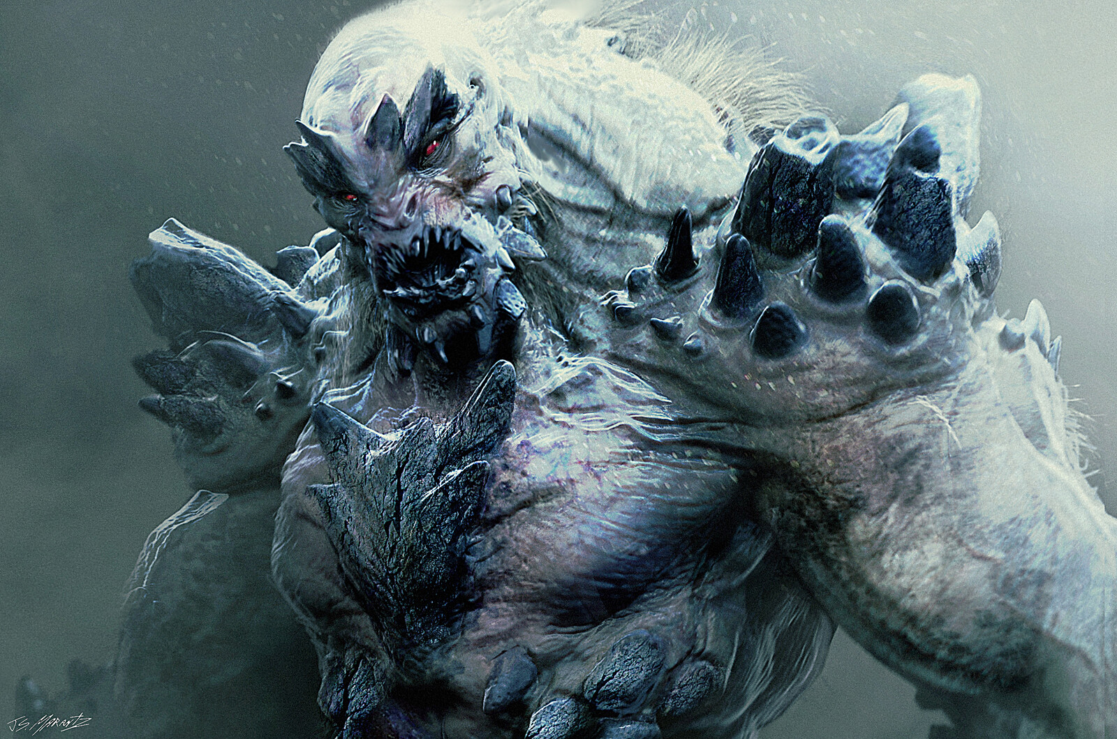 DOOMSDAY Conceptart for Batman V. Superman