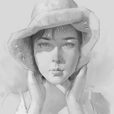 Female portrait studies 2