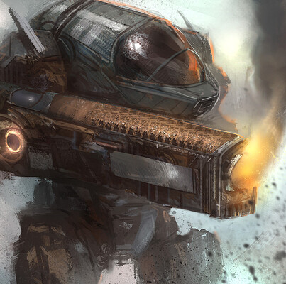 Mech Paintings