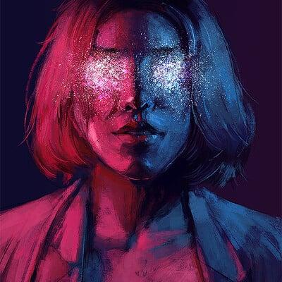 Sefie rosenlund glitter eyes