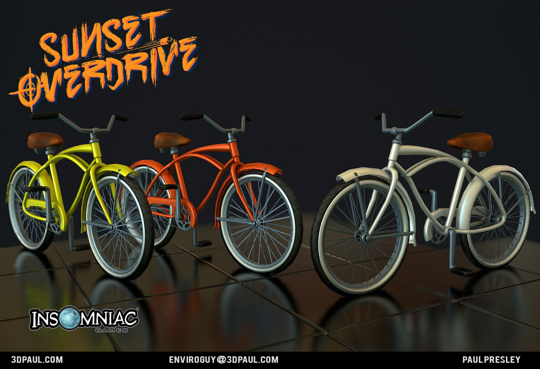 Paul presley ig 05 bikes