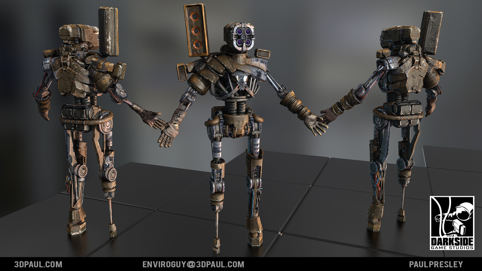 Paul presley bs robot 01