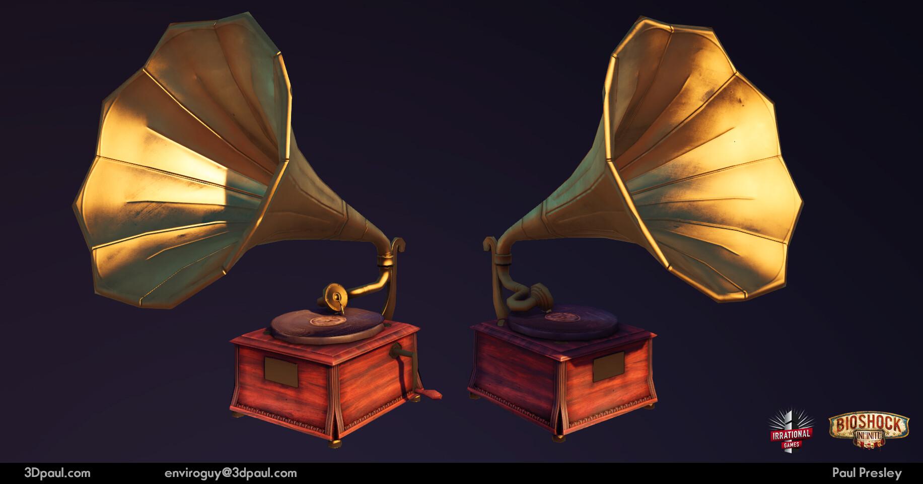 Paul presley 16 phonograph