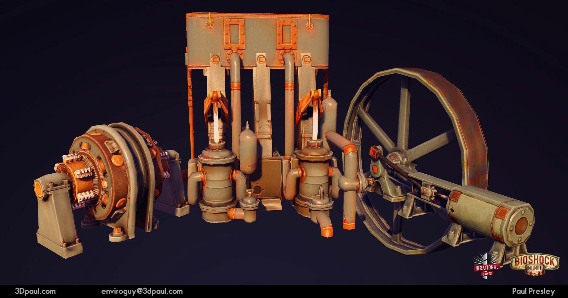 Paul presley 23 enginemachines