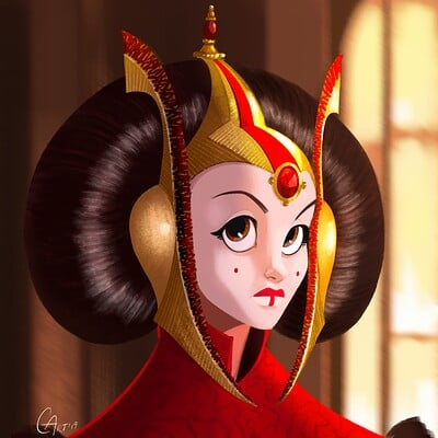 Christopher ables queen amidala may the 4th