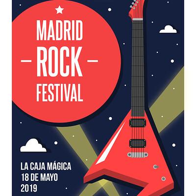Alberto camacho gordaliza madrid rock festival mesa de trabajo 1 copia 2