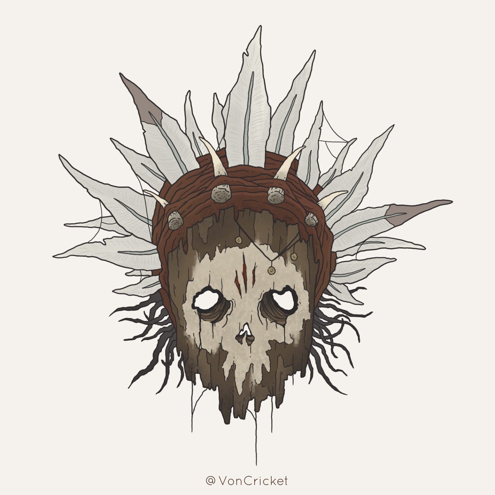Voodoo Hunter Mask