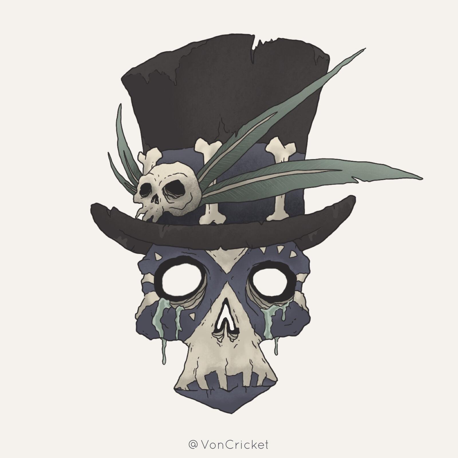 Samedi Voodoo Mask