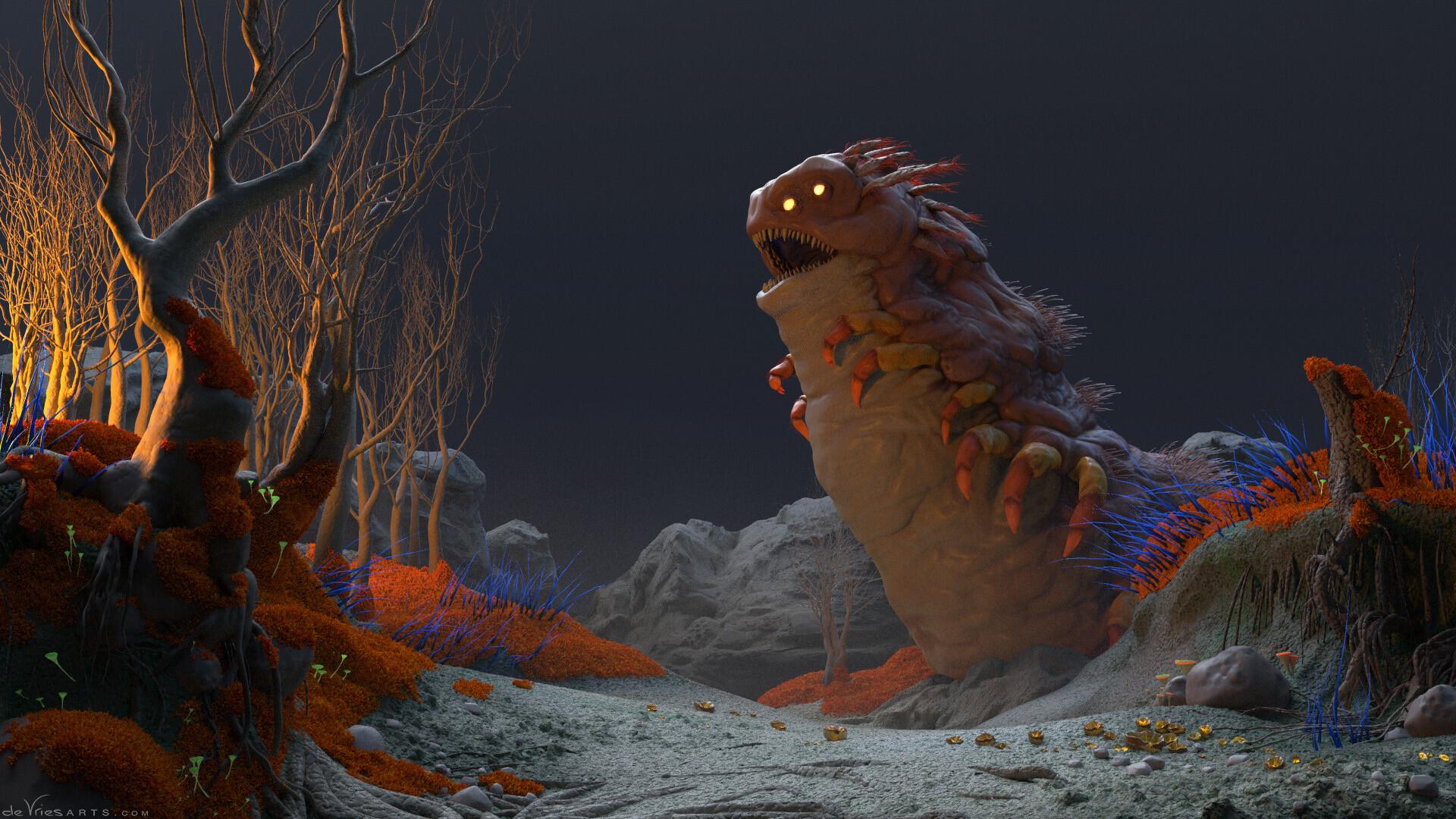 Thijs de vries 06b worm thijsdevries devriesarts