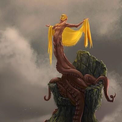 Niklas rhose king in yellow