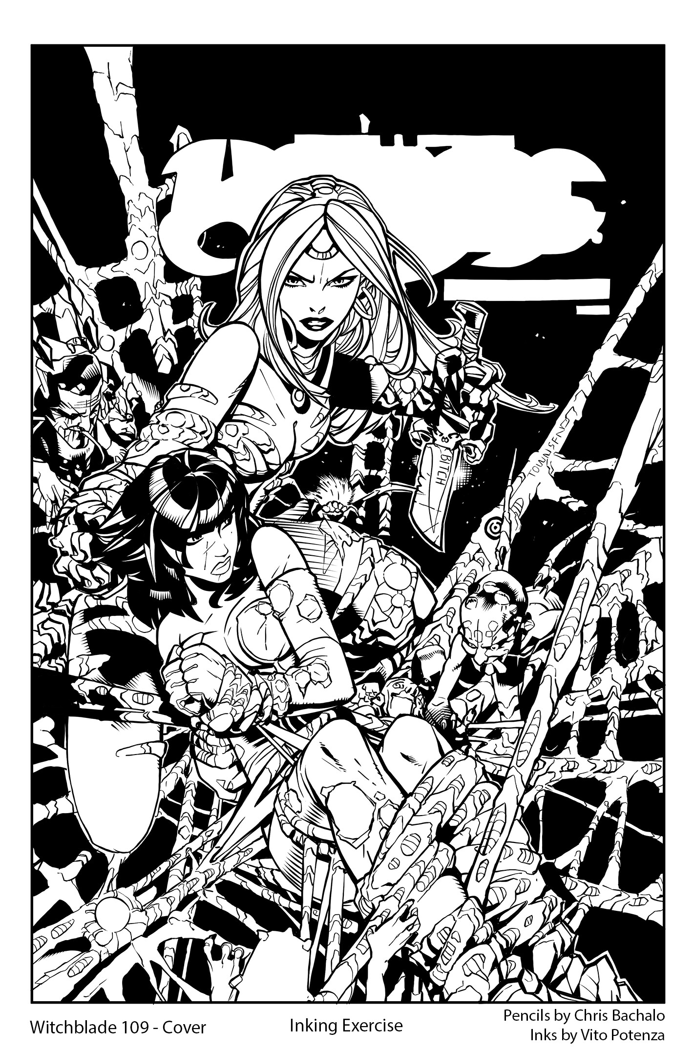 Witchblade #109 - Cover