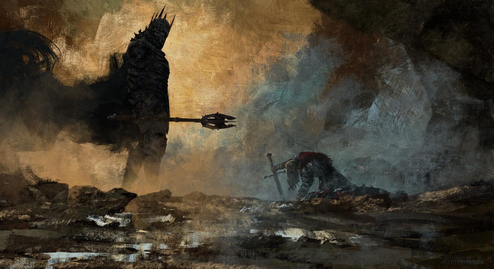 Anato finnstark the fate of isildur the lord of the rings by anatofinnstark dd6ihs6 fullview