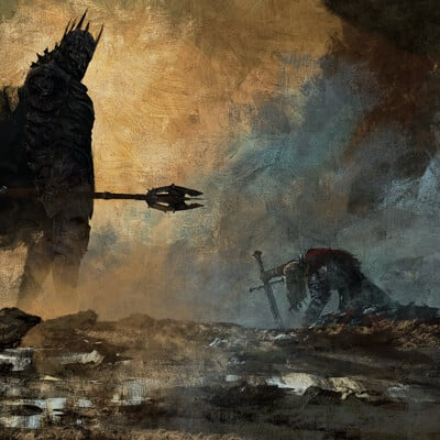 Anato finnstark the fate of isildur the lord of the rings by anatofinnstark dd6ihs6 fullview