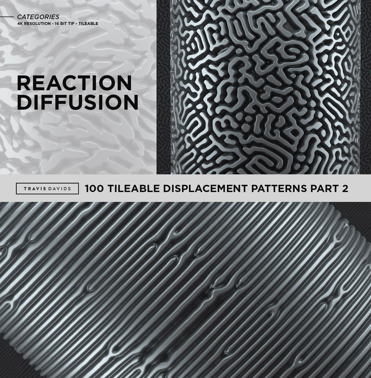 Travis davids categories reaction diffusion