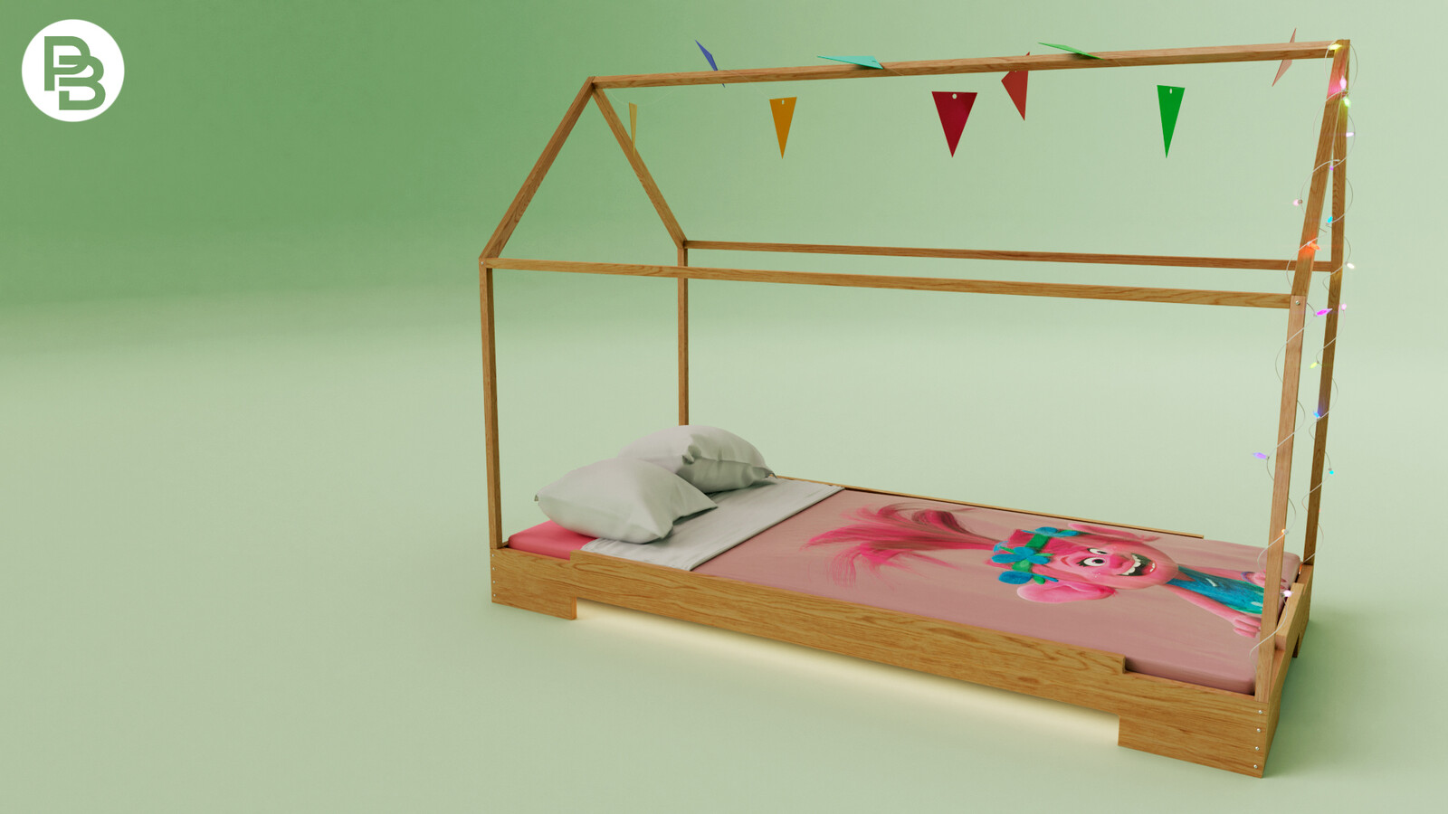 Trolls bed