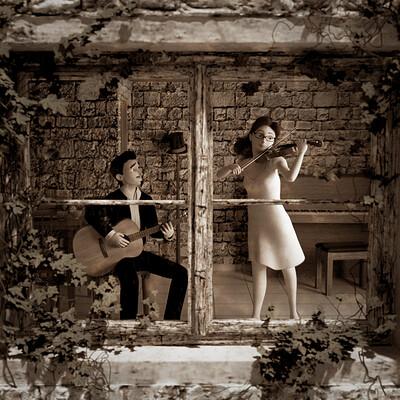 Raz freedman guitar and violin 17 12
