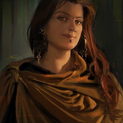 Aurore folny autoportrait2018 1