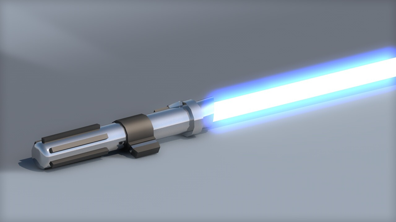 Artstation Anakin S Lightsaber Episode 2 Kirill Shvetsov