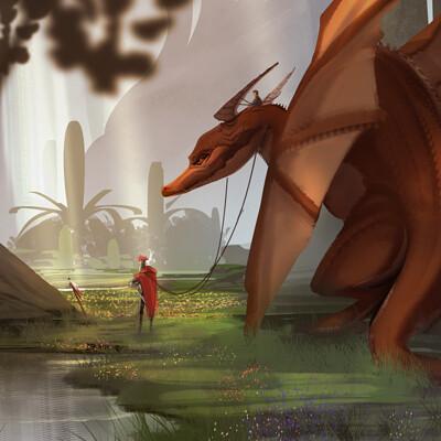 Samia rachid bst challenge dragon rider