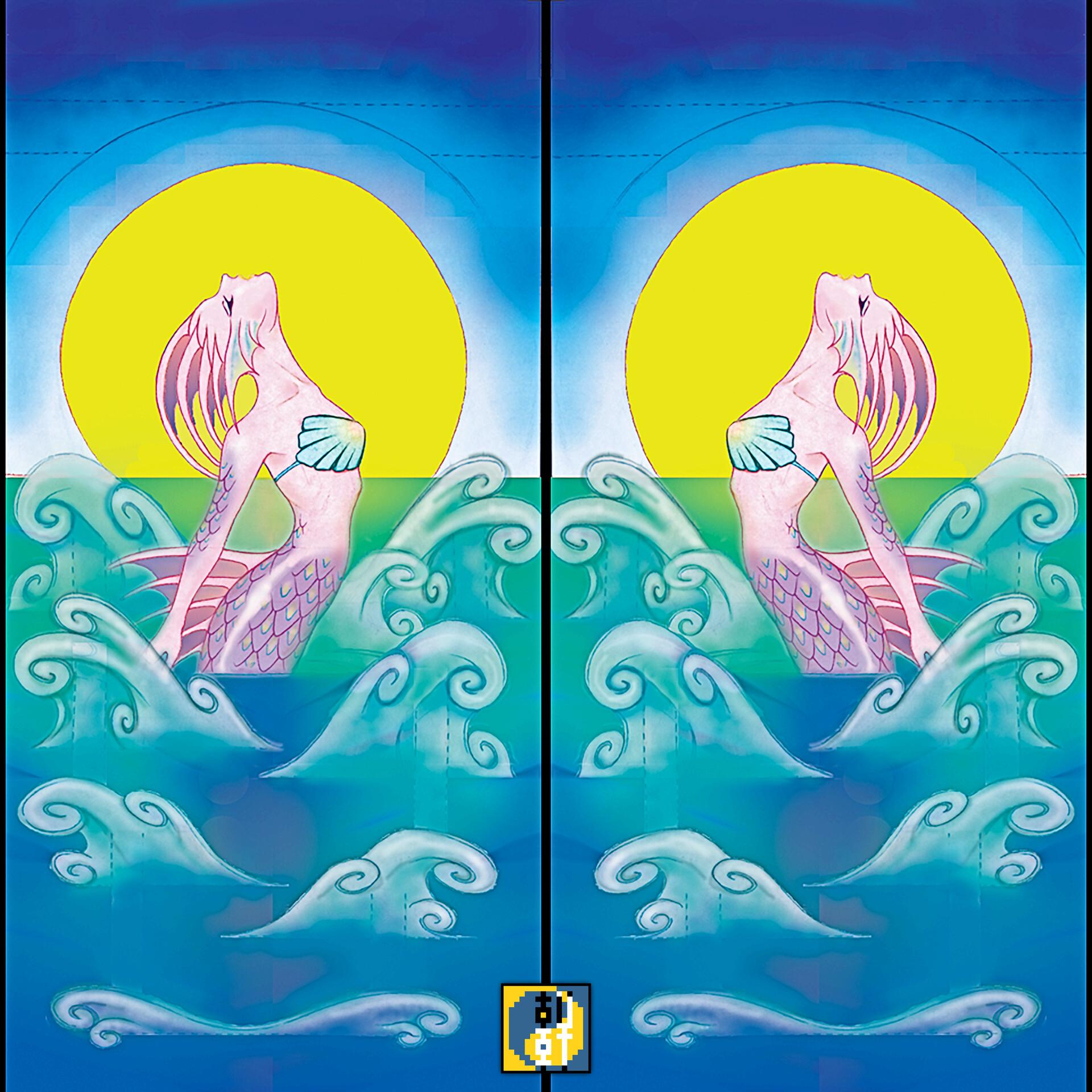 Eric lynx lin mermaidcard00