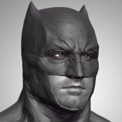 Batman Statue WIP