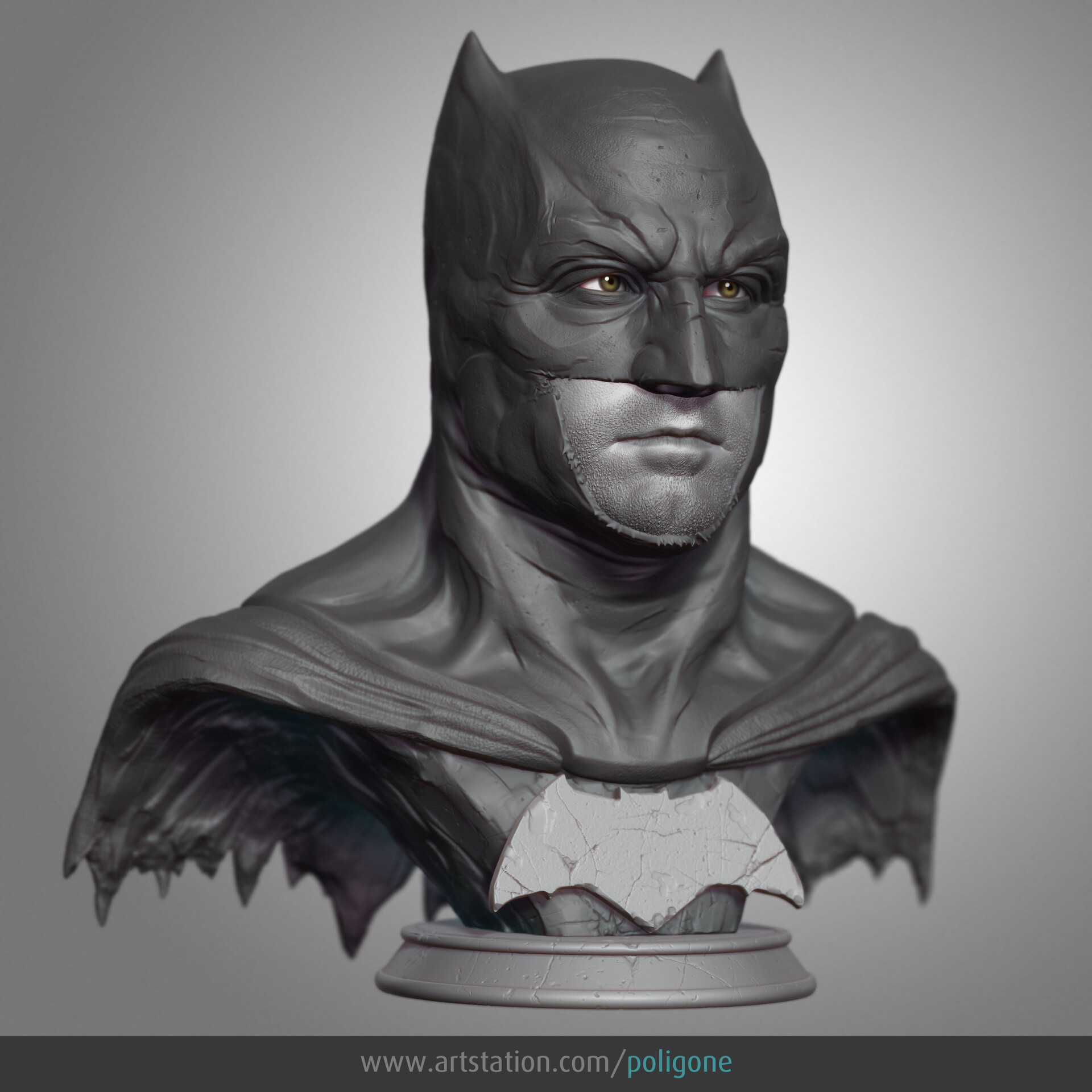 Justice League Batman statue