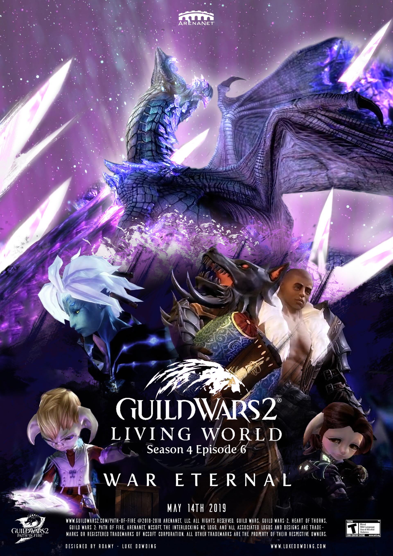 ArtStation - Guild Wars 2 Living World Season 4 Finale