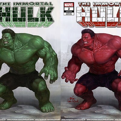 Inhyuk lee immotal hulk 2
