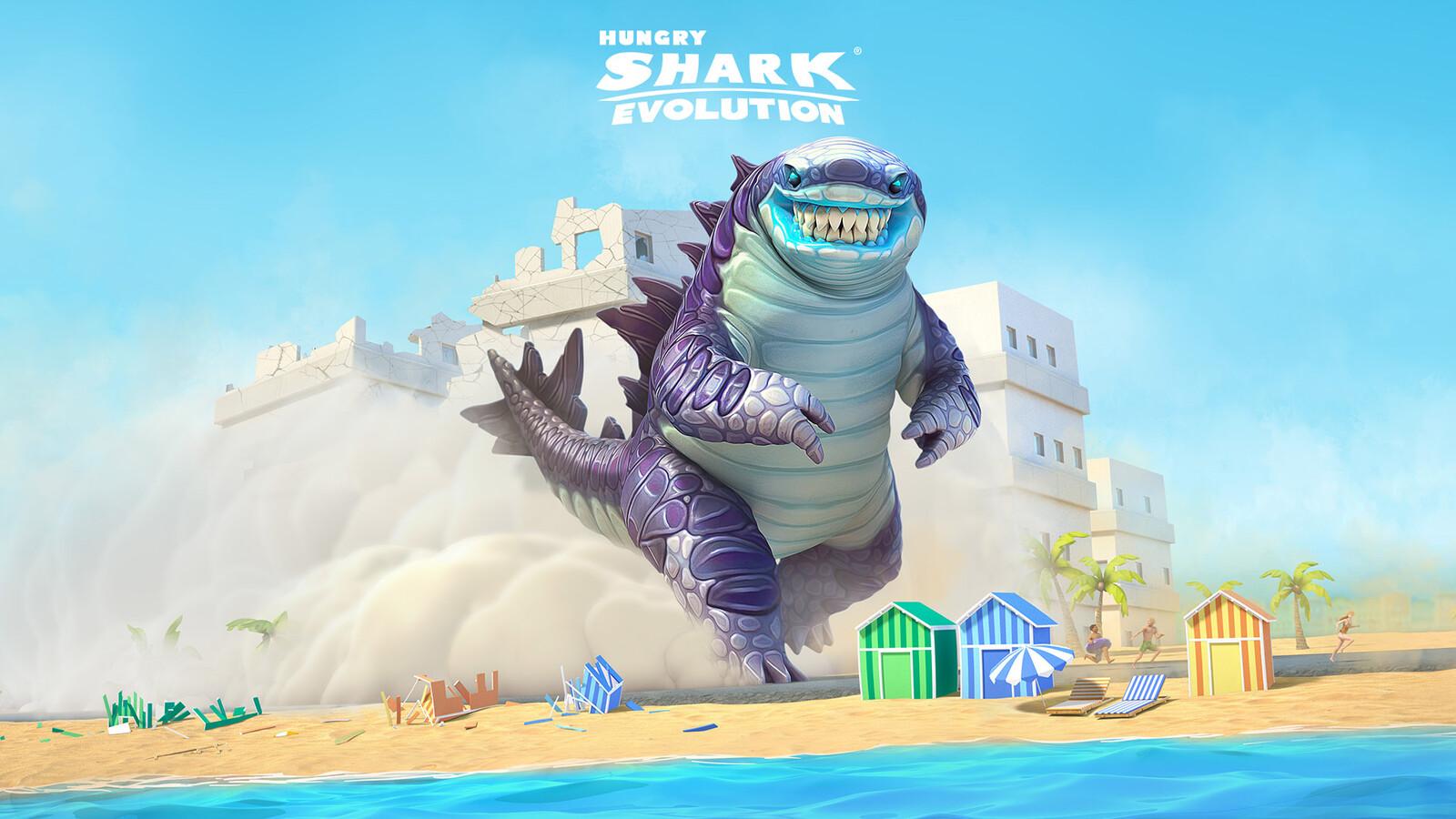 Hungry Shark Evolution Keyarts