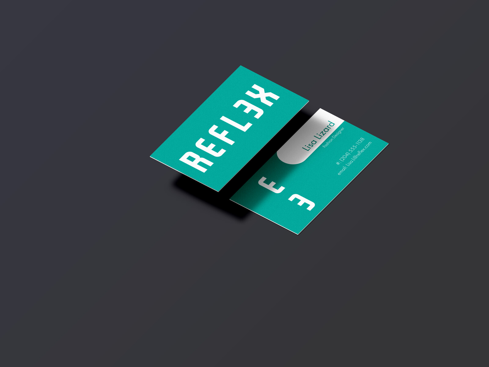 Mock up business card