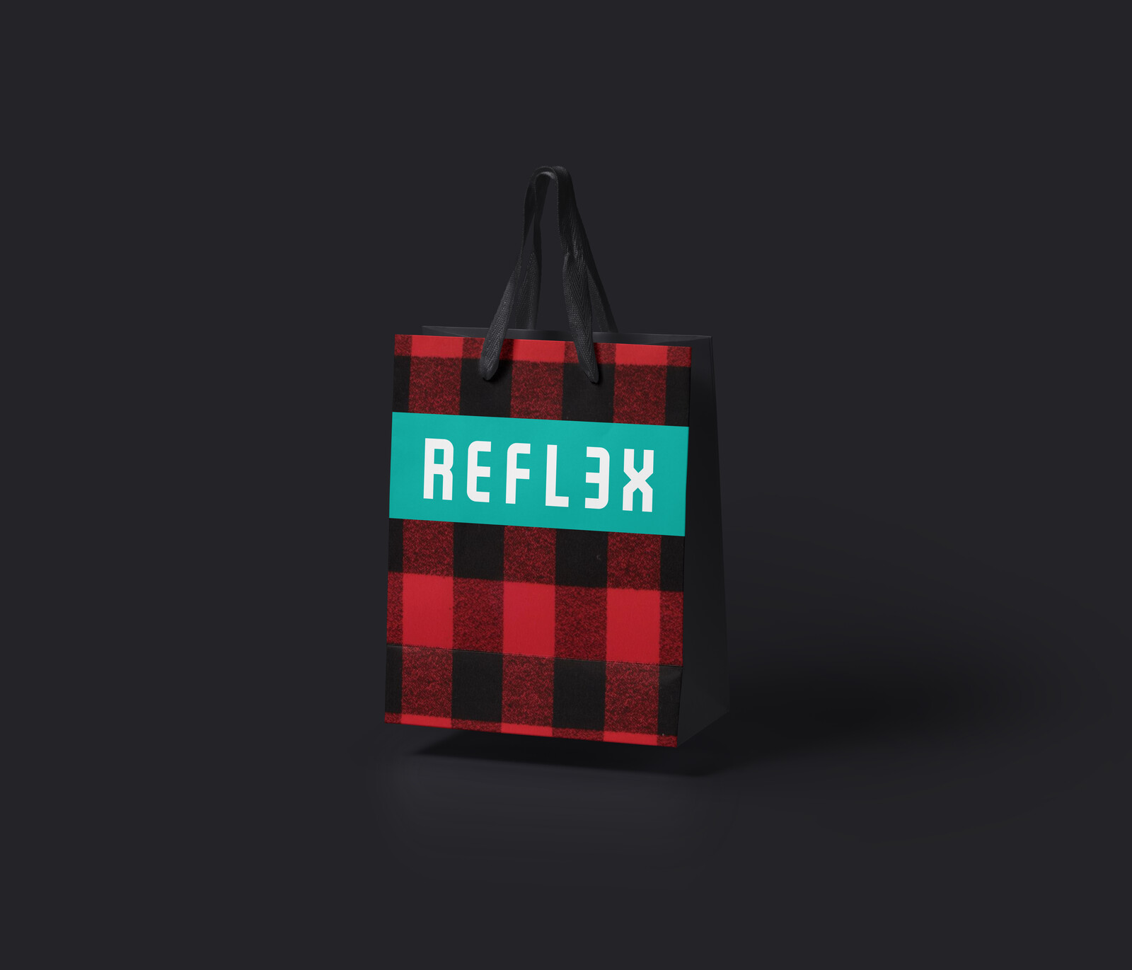 Mock up shopping bag