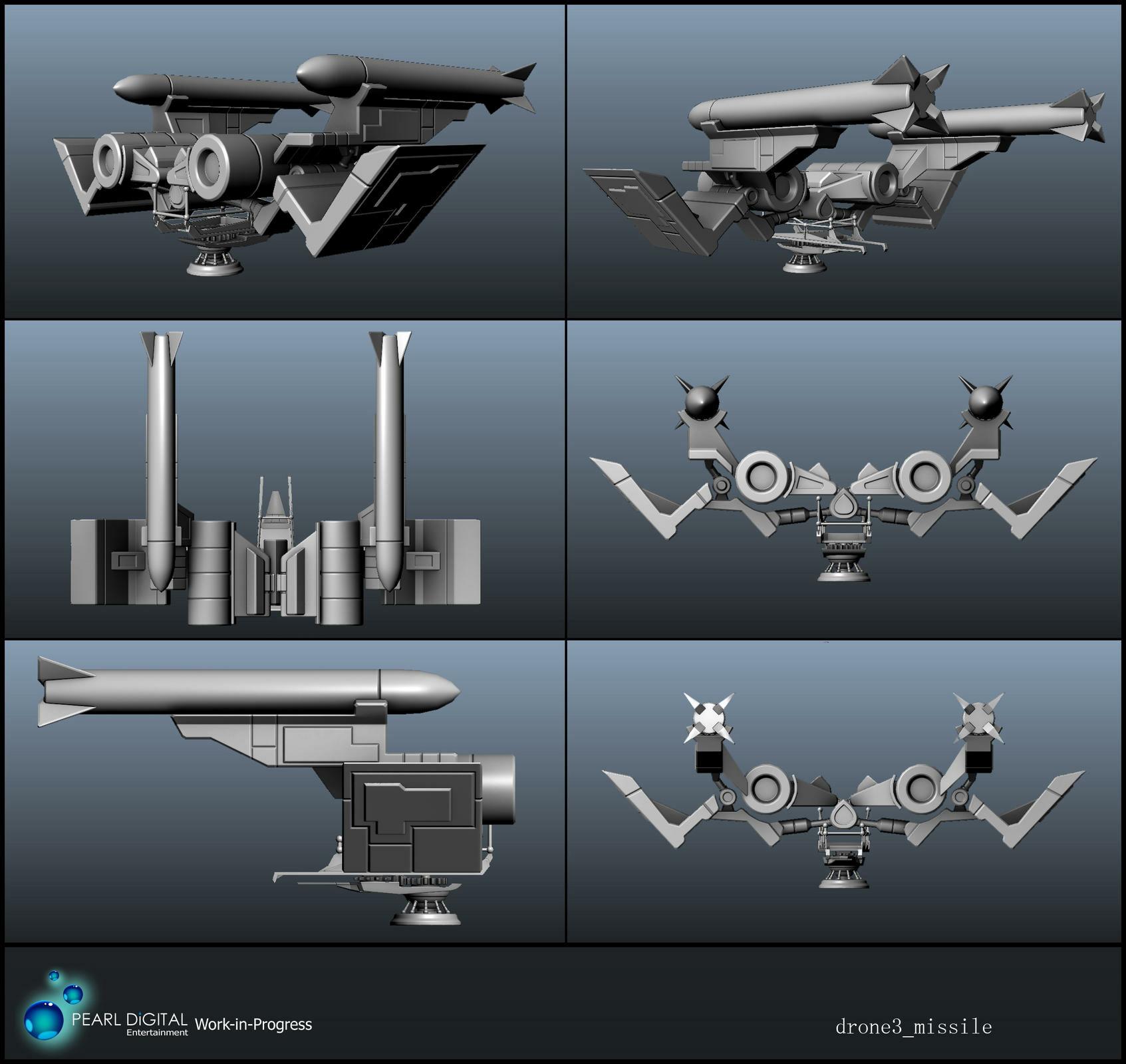 Sherif habashi 48 drone3 missile