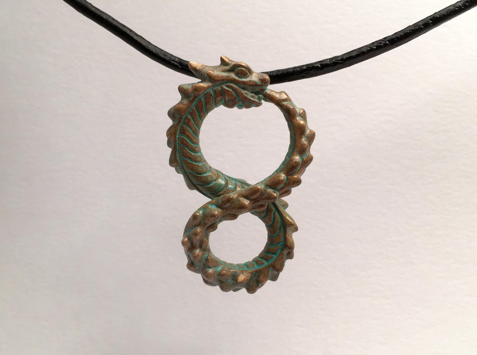 Ken calvert ouroboros ancient bronze 1