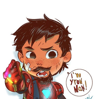 Rafael sam iron man