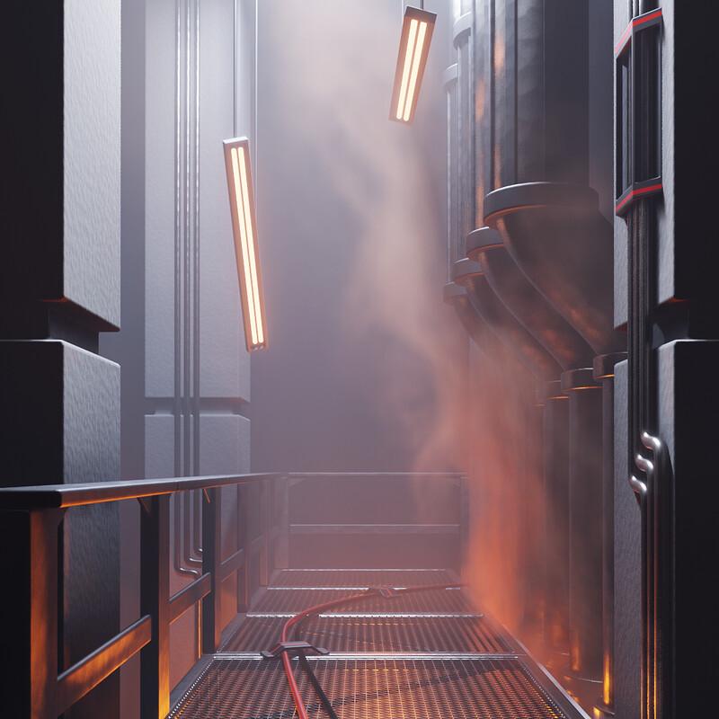 Smoke Simulation Demo Scene