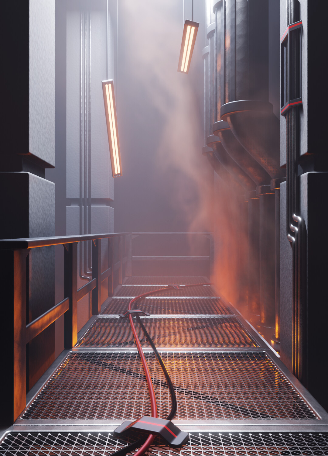 Smoke Simulation Demo Scene