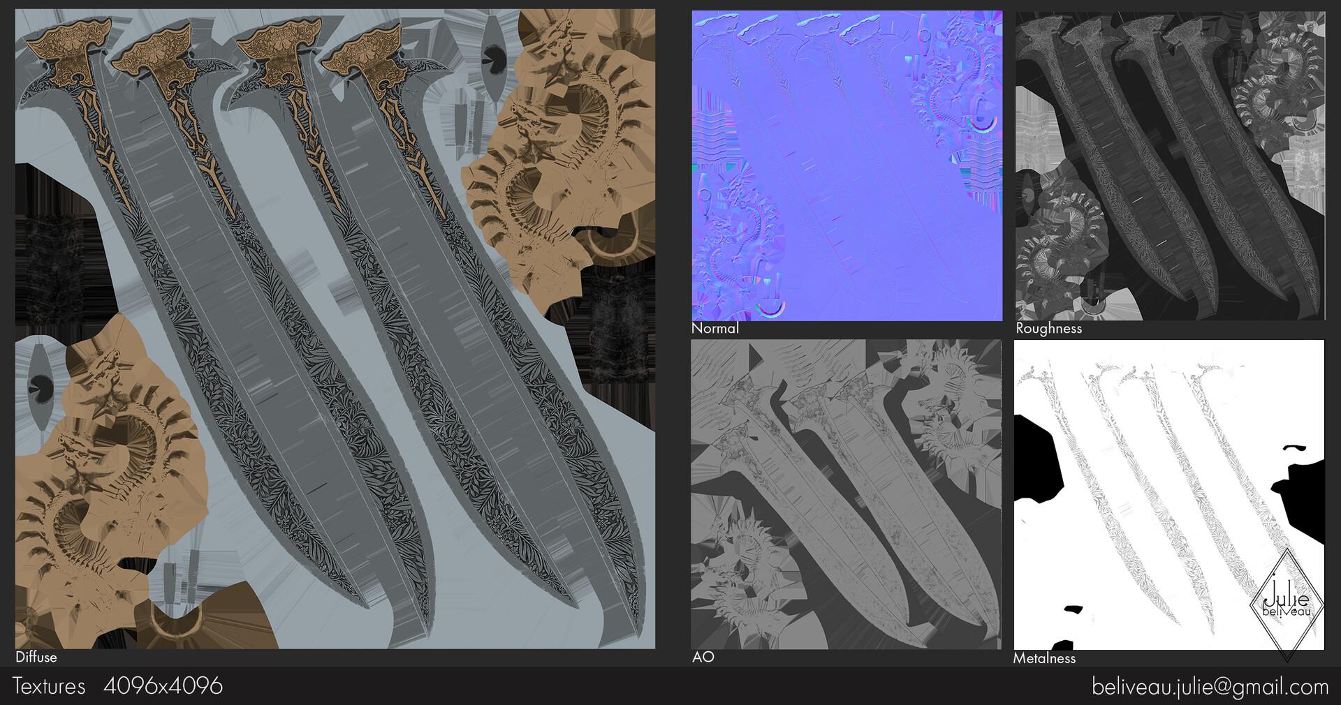Julie beliveau swords of a celestial maps