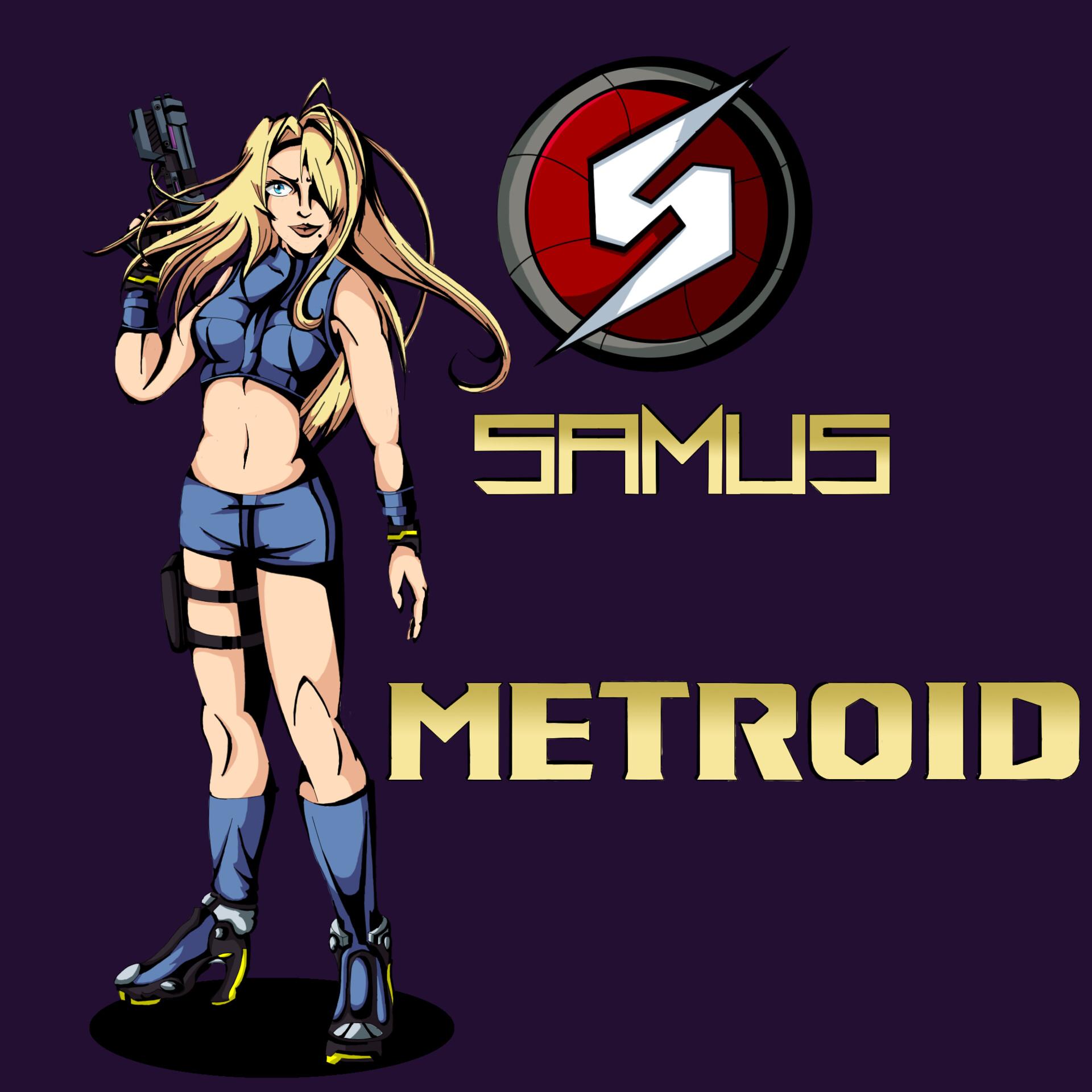 Jack Brown Metroid Samus Aran Zero Suit