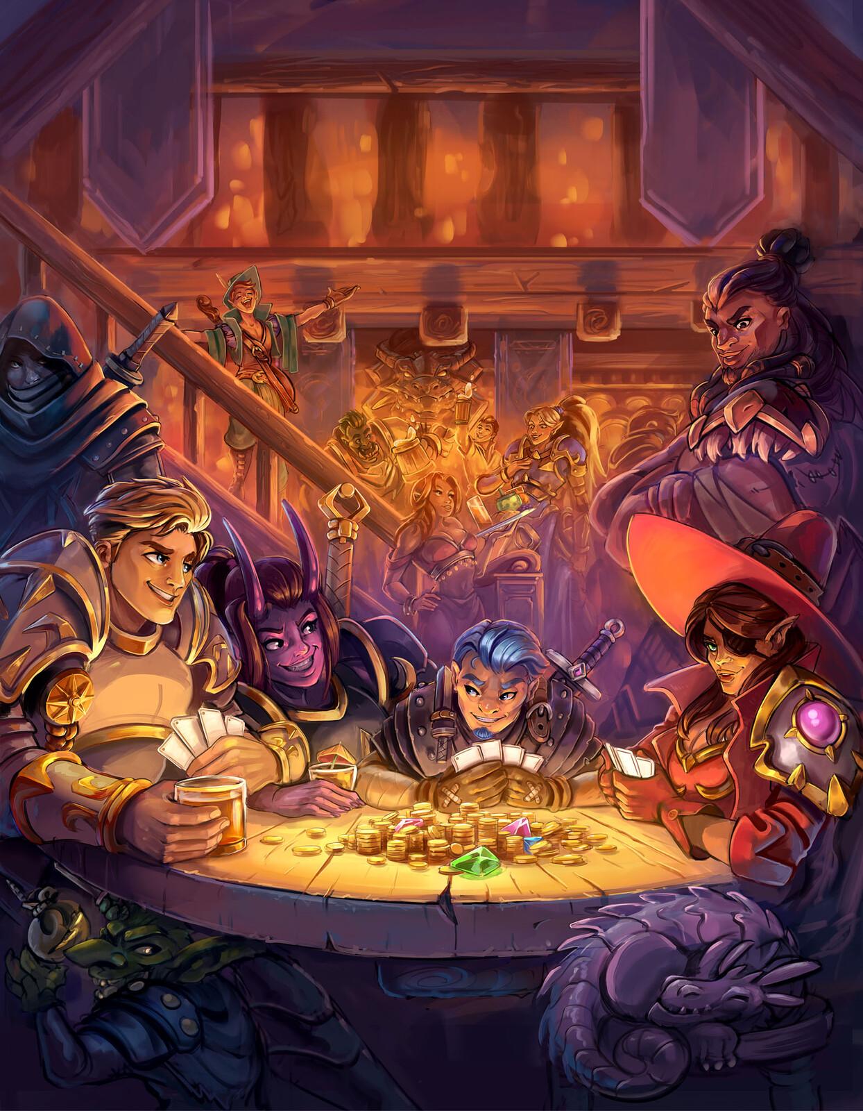 """...You start in a tavern"""