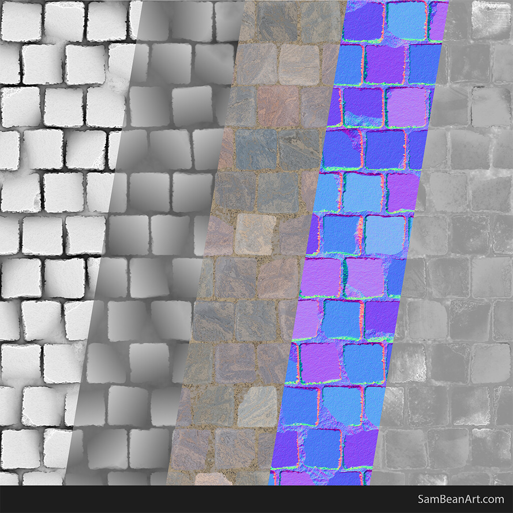 Sam bean tiles textures