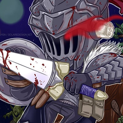 Lisa nguyen goblin slayer chibi night