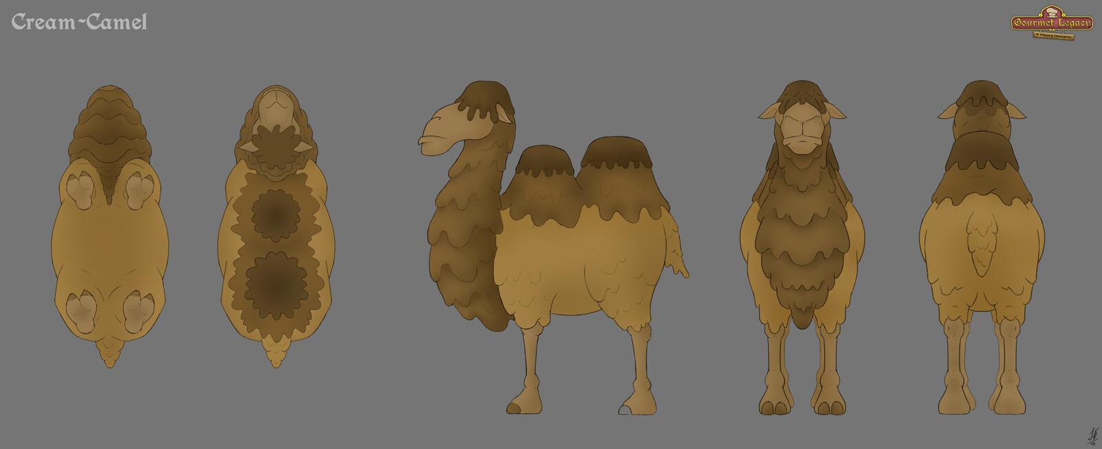 Cream-Camel