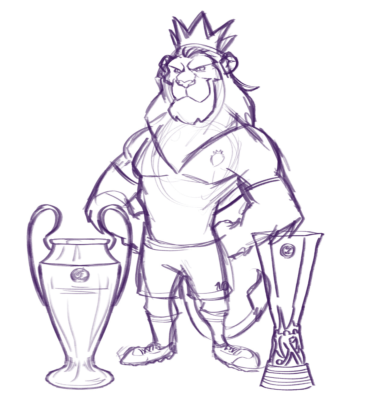Arturo Aguirre Art Premier League Lion Mascot They Re Coming Home Latest premier league statistics, standings, fixtures, results and other statistical analysis. premier league lion mascot they
