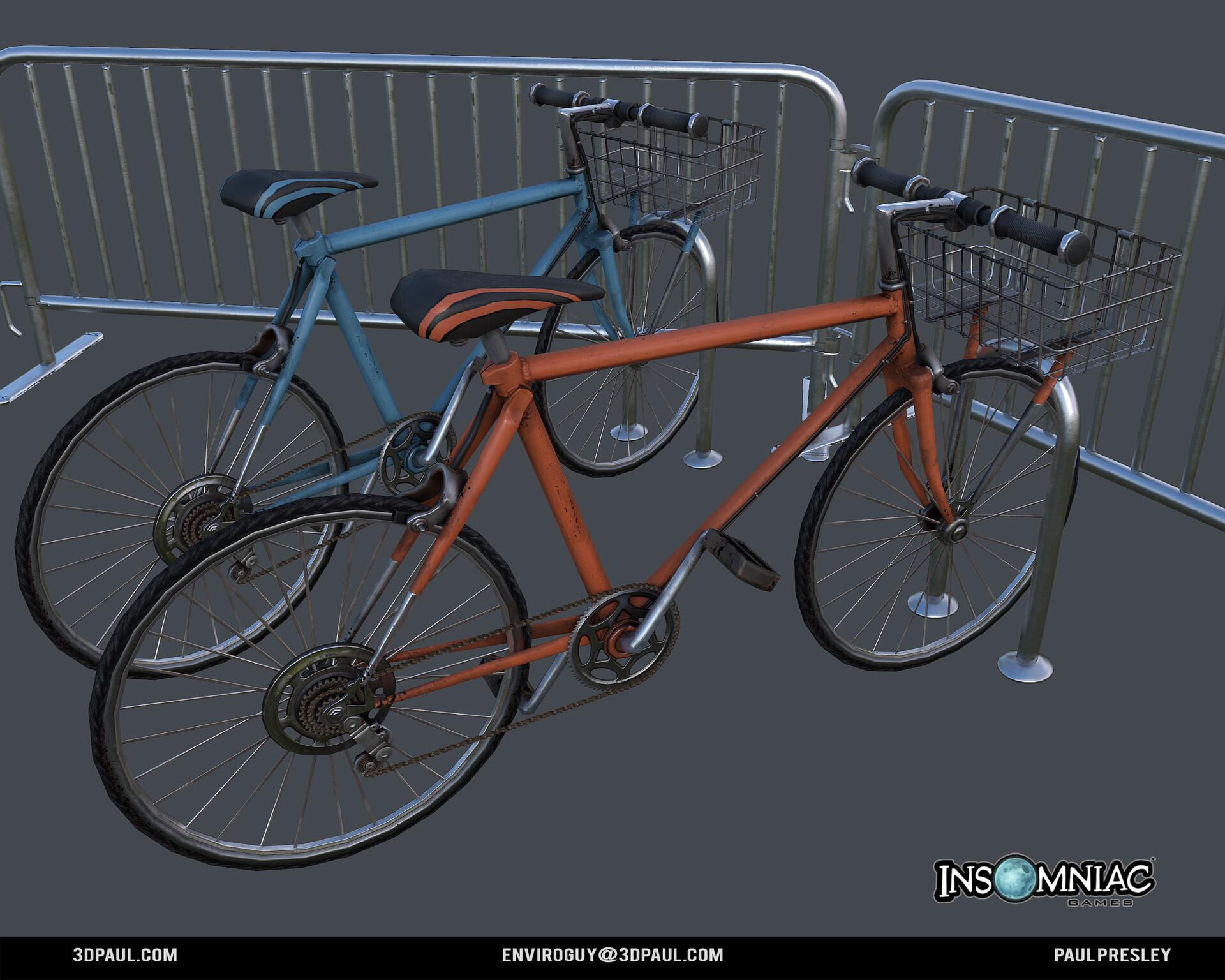 Paul presley ig spider 01 bike