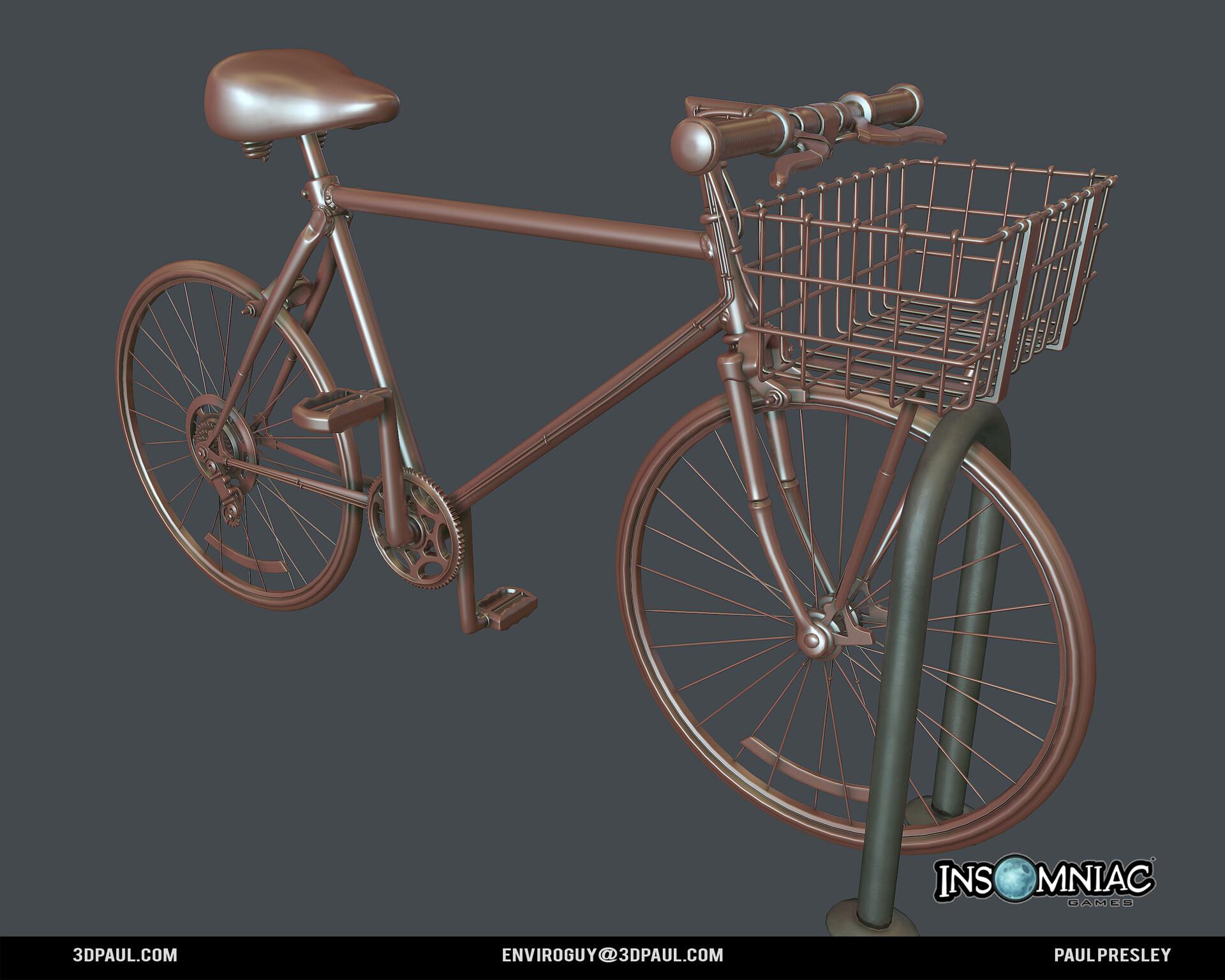 Paul presley ig spider 02 bike